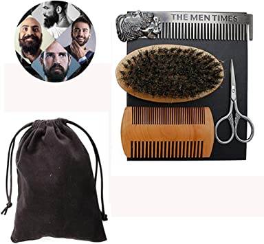 Set de belleza para barba Líneas finas de los hombres Líneas ...