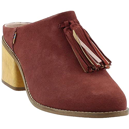 46db0e9b34a Toms Women s Black Suede Leila Mules 10010912  Amazon.ca  Shoes ...