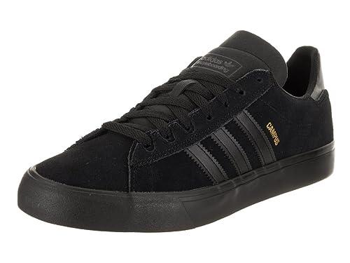 online store e2a5c b8732 adidas Skateboarding Mens Campus Vulc II Core BlackCore BlackCore Black  6.5 D