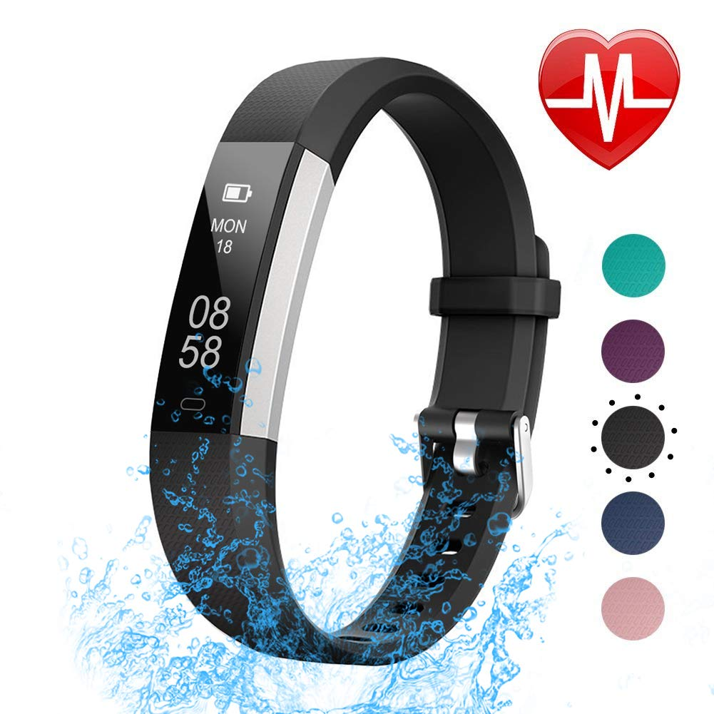 LETSCOM Fitness Tracker with Heart Rate Monitor for Kids