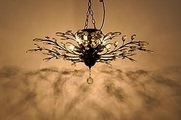 Plafoniere Led Vintage : Lampadario led vintage loft industriale fan luce