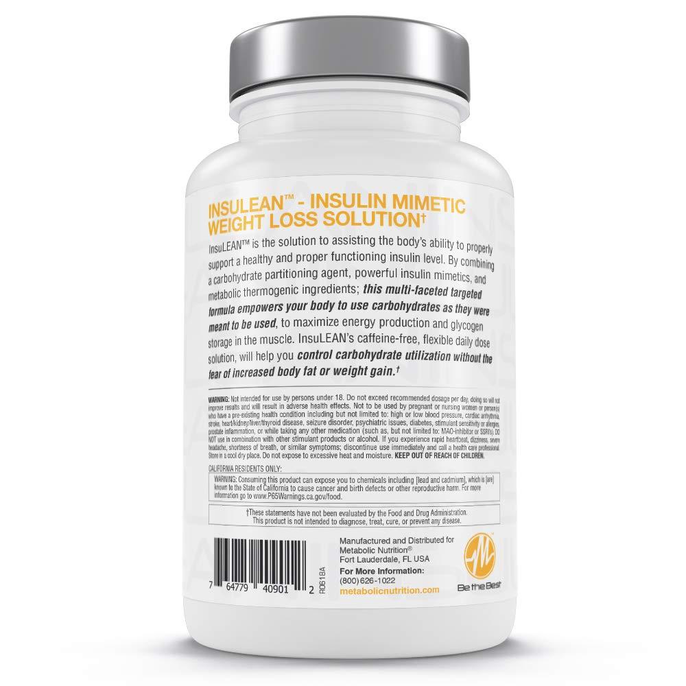 Metabolic Nutrition Insulean Capsules, 90 Count