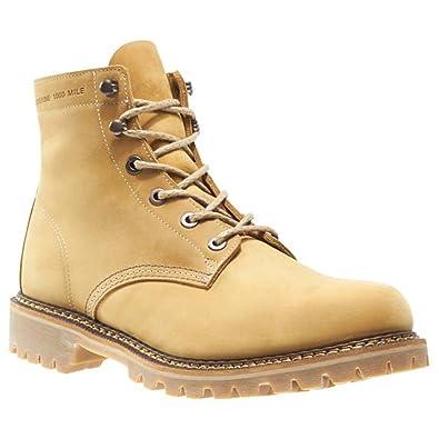a3bace83f8b Wolverine 1000 Mile Men's Duvall Boots, Beige Nubuck, Rubber, 13 D ...