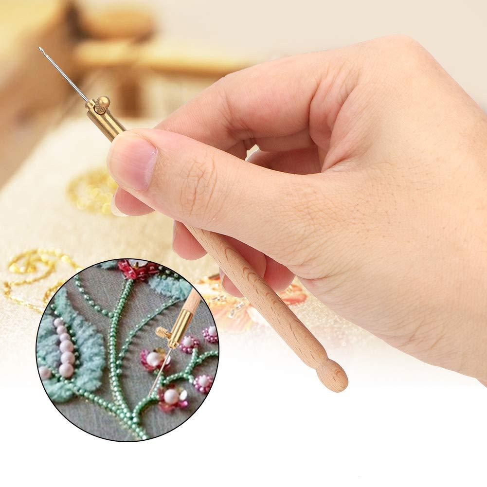 Uncinetto Mootea con 3 aghi per ricamo Set di aghi per ricamo a maglia
