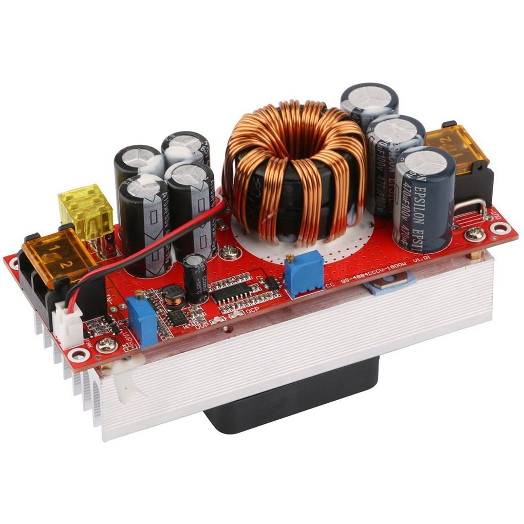 1500W DC-DC Step-up Boost Converter 10-60V to 12-97V 30A Constant Current Power Supply Module LED Driver Voltage Power Borad fgyhty