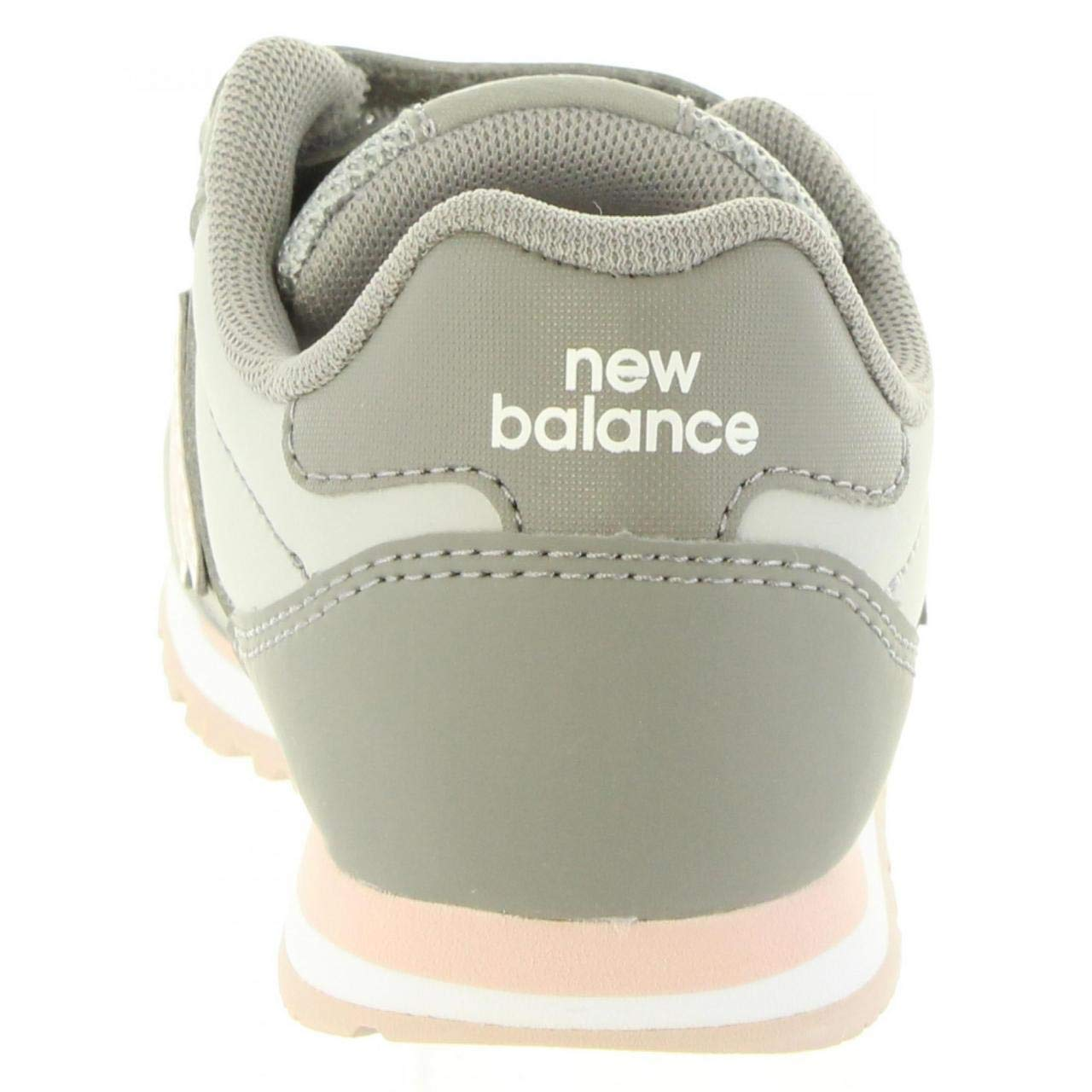 New Balance Unisex-Kinder Zapatillas Kv500pgy Gris//Rosa Fitnessschuhe