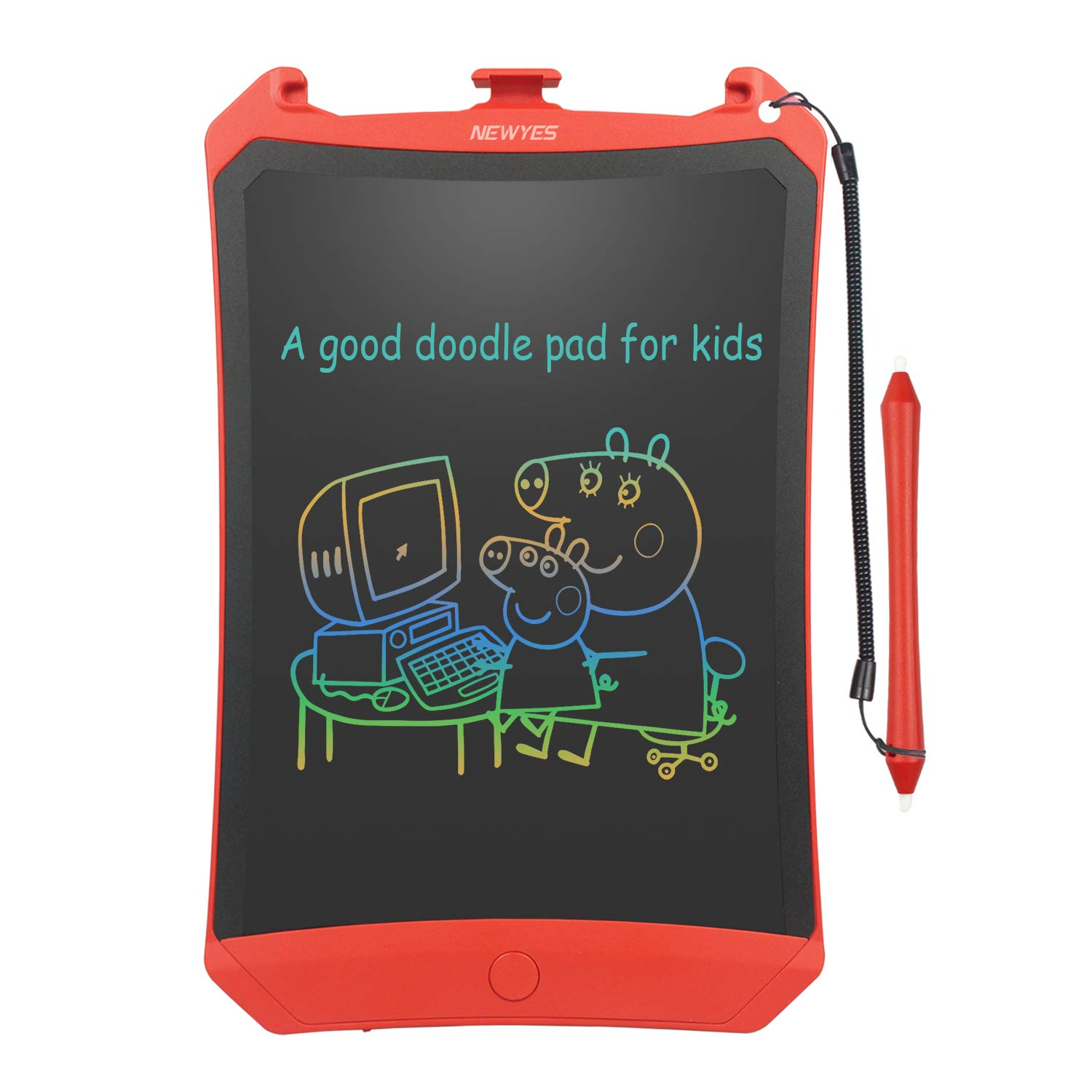 NEWYES Colorful Robot pad 8.5 Inch LCD Writing Tablet Electronic Doodle Pads Drawing Board Gifts for Kids (Colorful Version)
