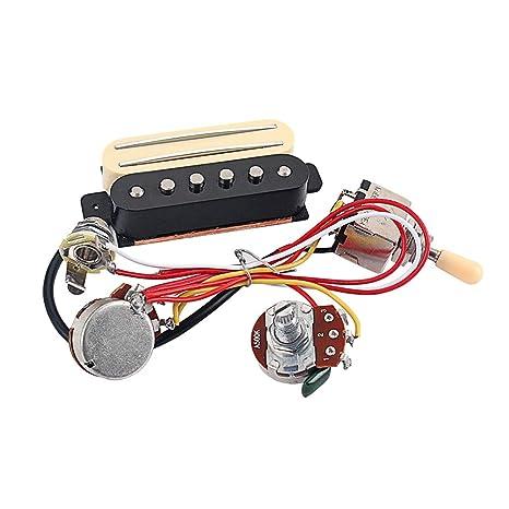 Healifty 1 juego de accesorios de arnés de cableado para guitarra ...