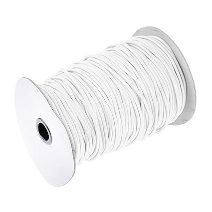 6/mm x10/Meter Elastic Cord//Bungee Rope//Stretch Cord//Shock Cord schwarz