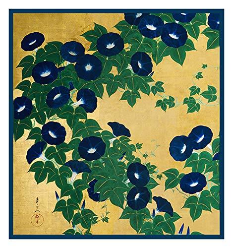 - Orenco Originals Morning Glories by Japanese Suzuki Kiitsu Counted Cross Stitch Pattern