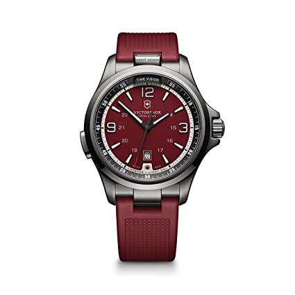 Victorinox Swiss Army Victorinox Men'S 'Night Vision' Swiss Quartz Stainless Steel Casual Watch (Model: 241717)