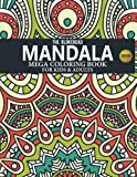Mandala Mega Coloring Book For Kids & Adults (The Blokehead Journals)