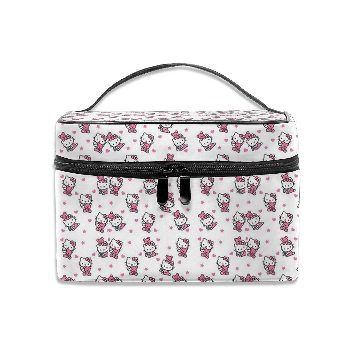 Cosmetic Bag Hello Kitty Portable Travel Makeup Bag Cosmetics Organizer Multifunction Toiletry Bags Storage Case