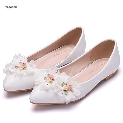 6b65b0ee7675 Amazon.com  TASOGEN Women s Flat Shoes