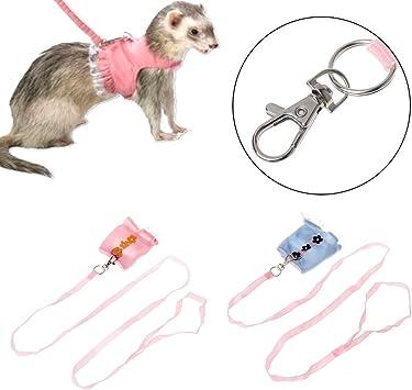 Biniwa – 1 arnés para Mascotas, para Animales pequeños, Conejo ...