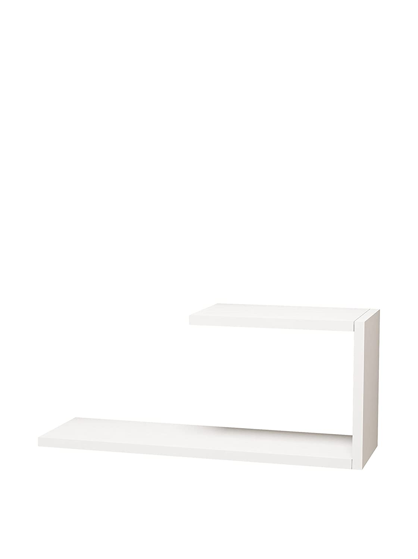 MINAR by Homemania Home Factory Mensola A Muro J 8681285901552_White