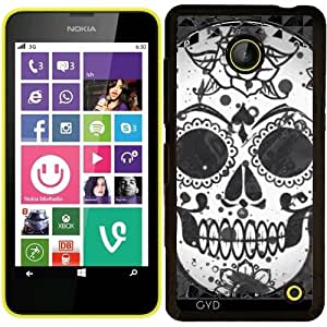 Funda para Nokia Lumia 630 - Sugarskull Blanco Y Negro by More colors in life