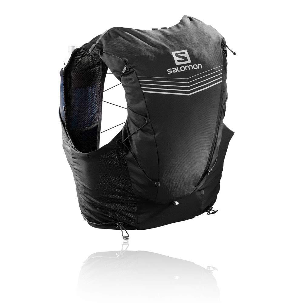 Salomon Advance Skin 12L Trinksystem, Schwarz, XS