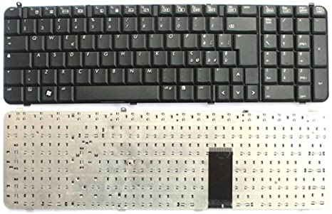 Teclado italiana Nuova Notebook HP Compaq DV9000 serie 9j.n8982.10e