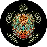 Best Custom Accessories Tire Covers - Turtle #4 multi color shell Tire Cover Review