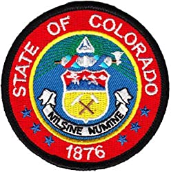 """Colorado - 3"""" Round State Seal Patch"""