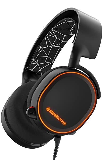 SteelSeries Arctis 5 (Edición Legado) - Auriculares para juego, Iluminación RGB, DTS 7.1 Surround para PC, PC, Mac, PlayStation 4, Móvil, VR, color ...