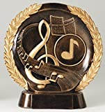 Etch Workz High Relief Music Trophy - Engraved 3D Music Awards