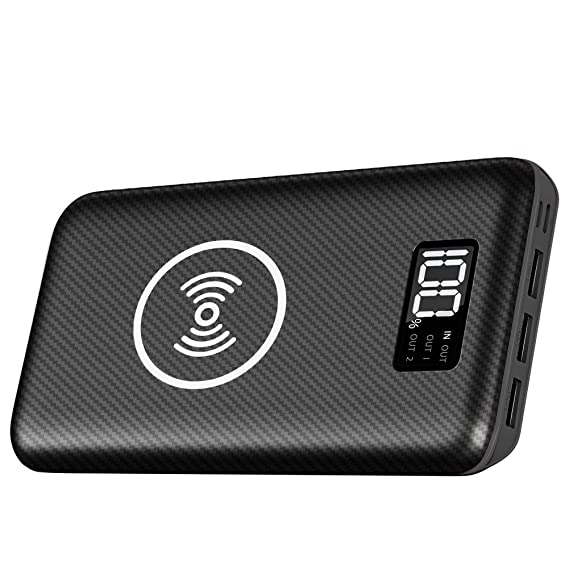 Amazon.com: Cargador portátil Power Bank 24000mAh - Cargador ...