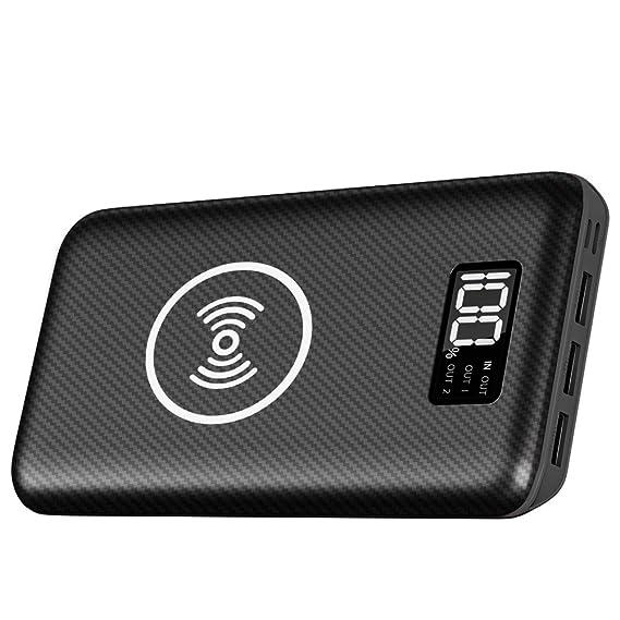 Amazon.com: Cargador portátil Power Bank 24000mAh - Cargador ...