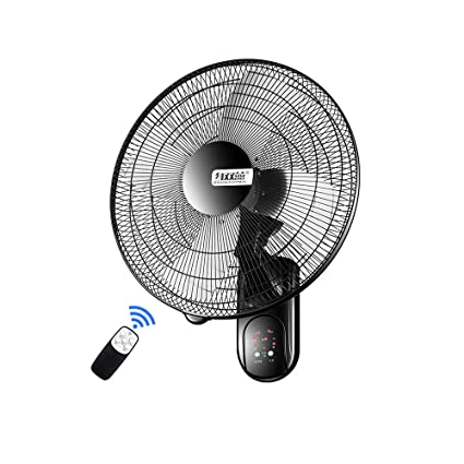 Amazon EGCLJ Creative Wall Fans Remote Control Timing Fan Delectable Wall Fans For Bedrooms