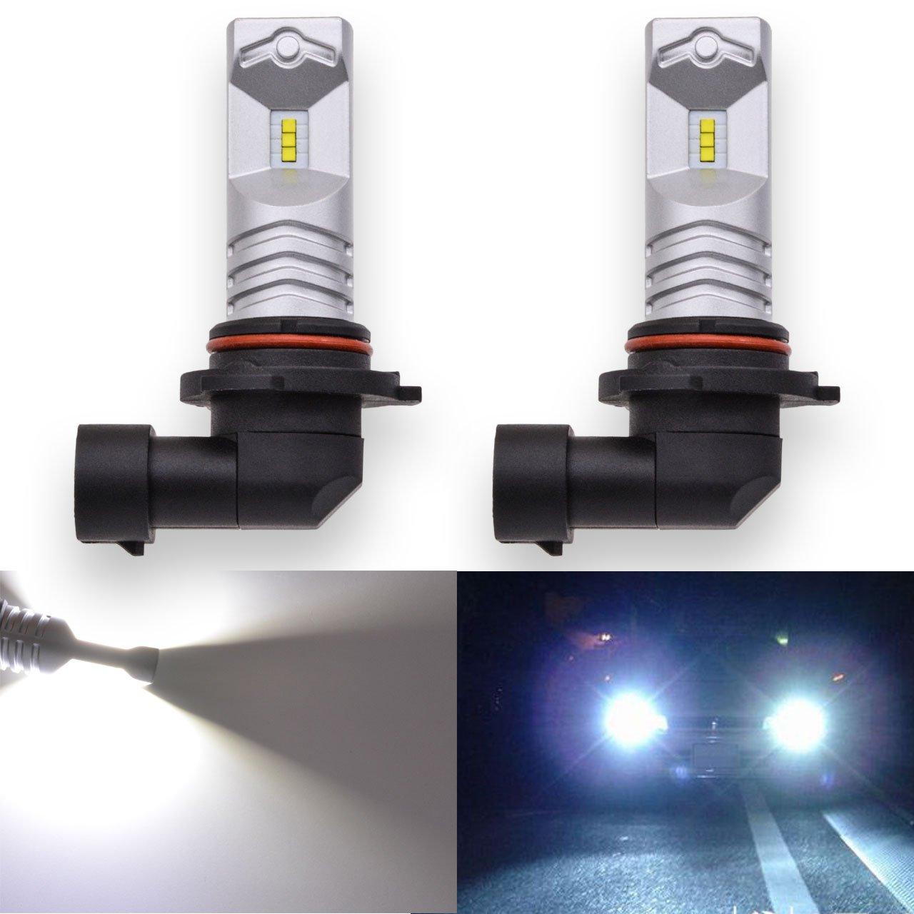 Katur Lot de 2 ampoules LED CSP extrê mement lumineuses 1600 lm Blanc froid, é tanche IP68, haute puissance 80 W, culot 1156 BA15S 1141 7056 Pour feux arriè re, feux stop, feux clignotants 12-24