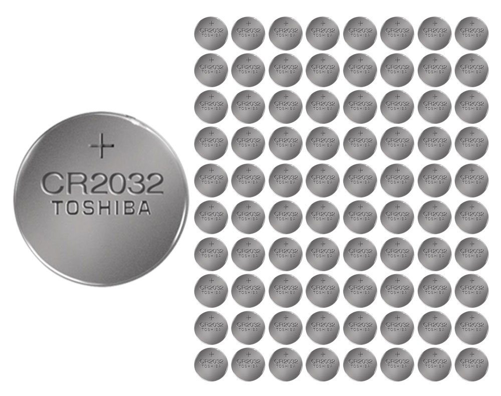 1600x Toshiba CR2032 Batteries 3v Lithium Coin Battery Bulk Wholesale Lot FRESH by 21Supply