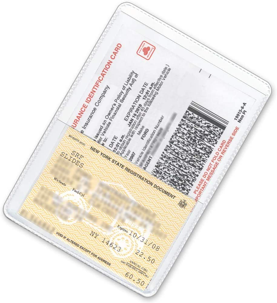 StoreSMART Gold-Back Auto Insurance /& ID Card Holders RFS20-GOLD25 25 Pack