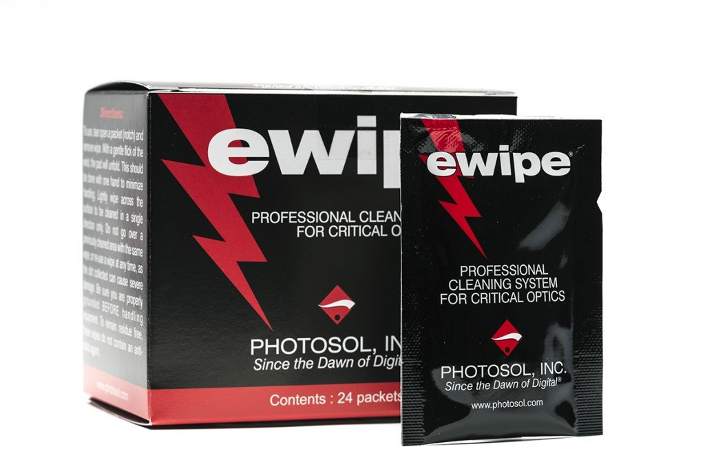 E-Wipe Cleaning Pad for Optics 24per/box by Photographic Solutions