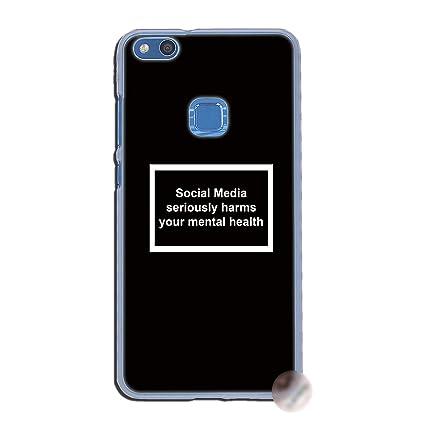 Amazon.com: Social Media - Carcasa para Huawei P30, P20, P9 ...