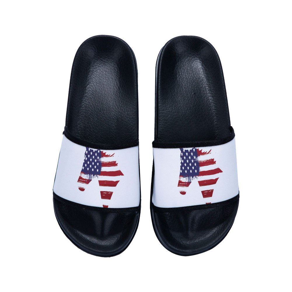 Drew Toby Boys Girls Anti-Slip Shower Sandals Couple Use Beach Pool Bathroom Gym Household Slippers