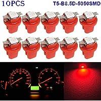 MZY1188 10pcs / Pack T5 B8.5D 5050 Super