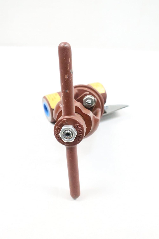 FLOWSERVE 600Y-GB Manual Steel Socket Weld Globe Valve 1//2IN 600 D626406