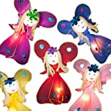 BLAZE ON® Enchanted Princess Fairies LED Fairy Lights (Rainbow) - 20 LED - Hand-Crafted Haute Couture Low Voltage Mains Powered Warm White Mood Lighting - UK Plug + 1 Year Guarantee