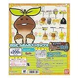 Bandai your touch detective Nameko cultivation kit Nameko Nfunfu strap 6 secret & Rare containing all seven Furukonpu set Gachapon Cell Phone Strap