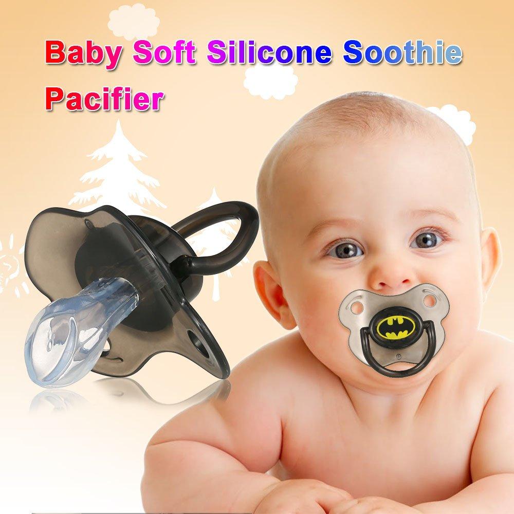 Goolsky Chupete Silicona Gracioso para Bebé sin BPA: Amazon.es ...