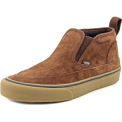 Vans Mid Slip SF Mens Brown Light Gum Chukka Boot (Medium   10 B(M ... b228fccd8