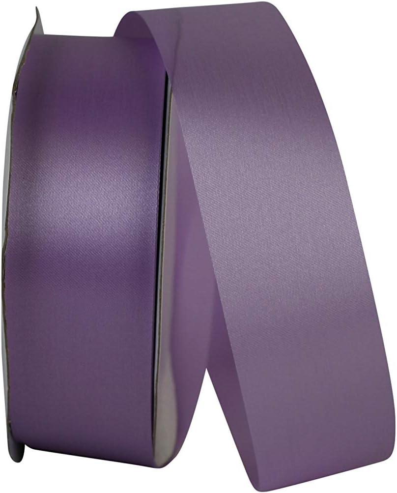 """Wide Purple Ribbon Periwinkle Grosgrain Ribbon 2 1//4/"""" wide x 50 yards Offray"""