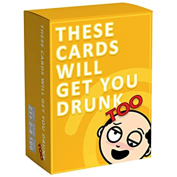 Amazon.com: These Cards Will Get You Drunk divertido juego ...