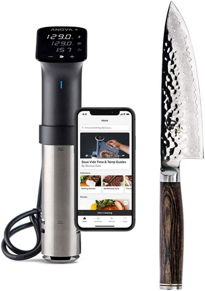 Anova Culinary Bundle With Shun Premier 6