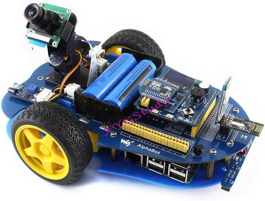 New AlphaBot Ultrasonic Sensor UNO Plus Basic Robot Building Starter Kit @XYGStudy