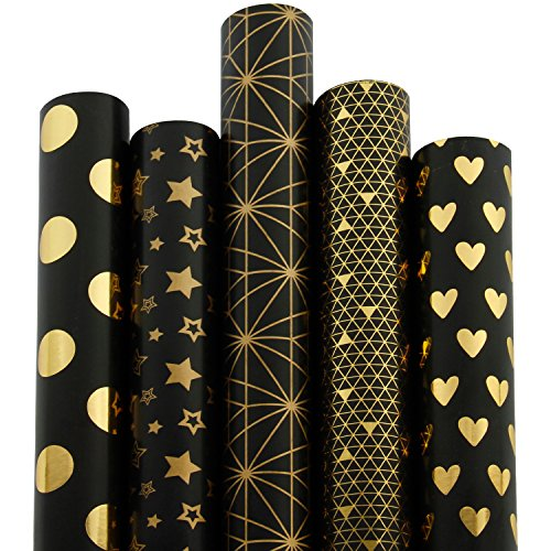 The 10 best black gift wrapping paper roll for 2019