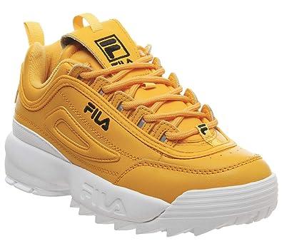 Fila Disruptor Ii Premium Damen Sneaker Gelb: Amazon.de: Schuhe ...