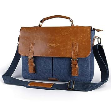 bolsos viaje hombre polipiel azul