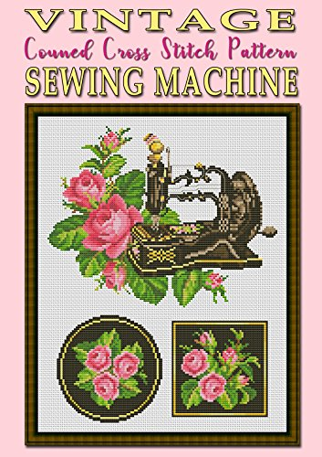 Vintage Sewing Machine Counted Cross Stitch Pattern Modern Book 15